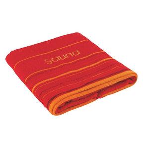 BASTUHANDDUK - röd, Klassisk, textil (70/200cm) - Esposa