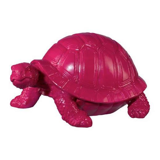 DEKOSCHILDKRÖTE - Pink, Trend, Kunststoff (40/20/26cm)