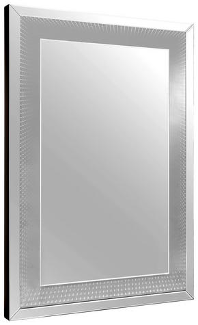 SPEGEL - silver, Design, glas/träbaserade material (80/120/5cm) - Xora