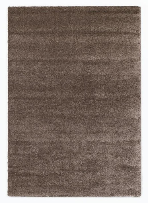 HOCHFLORTEPPICH  65/130 cm  gewebt  Braun - Braun, Basics, Textil (65/130cm) - Novel