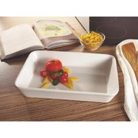 MISKA ZAPÉKACÍ - bílá, Basics, keramika (35/24/6cm) - Homeware Profession.