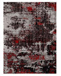 VINTAGE-TEPPICH  70/140 cm  Grau, Rot   - Rot/Grau, Trend, Textil (70/140cm) - Novel