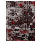 VINTAGE-TEPPICH Wunderschön Silent  - Rot/Grau, Trend, Textil (40/60cm) - Novel