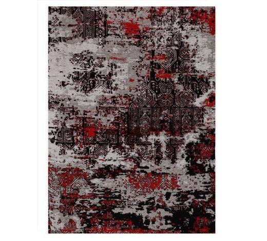 VINTAGE-TEPPICH - Rot/Grau, Trend, Textil (120/180cm) - Novel