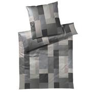 BETTWÄSCHE Makosatin Anthrazit, Grau 135/200 cm - Anthrazit/Grau, Basics, Textil (135/200cm) - Joop!