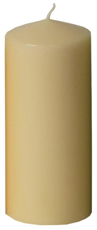 STUMPENKERZE - Champagner, Basics (6,7/15cm) - Ambia Home