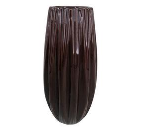 VAS - mörkröd, Trend, keramik (12/24,2cm) - Ambia Home