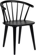 STOL - svart, Design, trä/träbaserade material (54/76/52cm) - Rowico