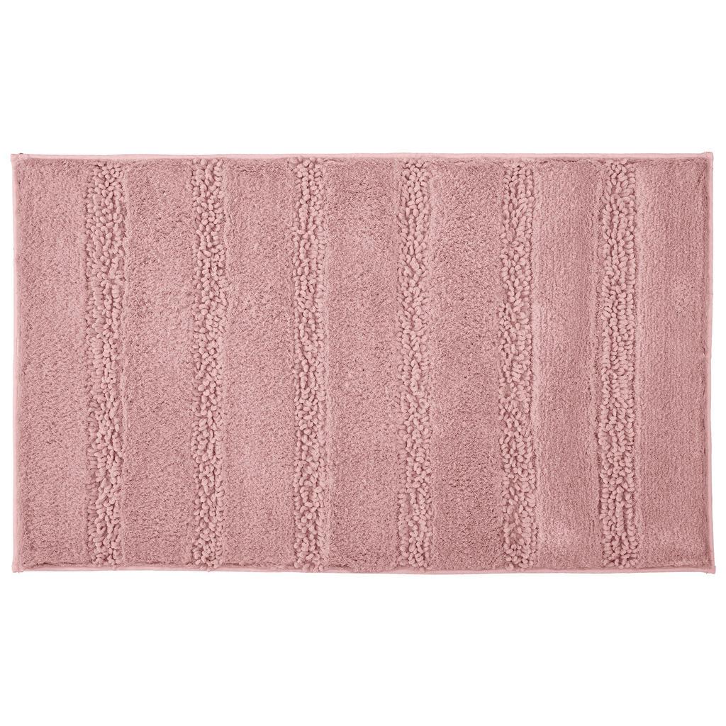 Kleine Wolke Badteppich in rosa 70/120 cm