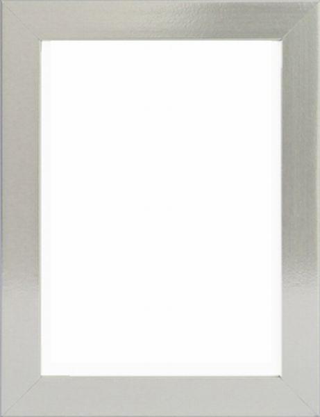 RÁM NA OBRAZY - barvy stříbra, Basics, dřevo (30/40cm)