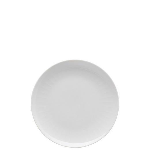 FRÜHSTÜCKSTELLER Keramik Porzellan - Weiß, Basics, Keramik (20cm)