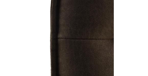 TRESENSTUHL in Metall, Textil Edelstahlfarben, Schlammfarben - Edelstahlfarben/Schlammfarben, Design, Textil/Metall (56/98/62cm) - Valnatura