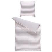 BETTWÄSCHE Jersey Taupe 135/200 cm  - Taupe, KONVENTIONELL, Textil (135/200cm) - Bio:Vio