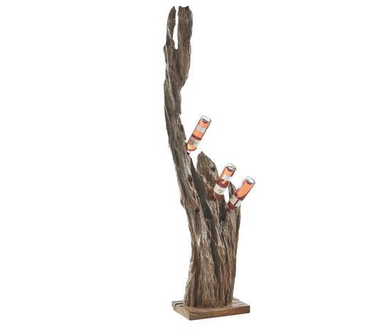 FLASCHENHALTER - Naturfarben, Trend, Holz (30/180/30cm) - Ambia Home
