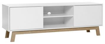 LOWBOARD 150/50/40 cm  - Eichefarben/Weiß, ROMANTIK / LANDHAUS, Holzwerkstoff (150/50/40cm) - Carryhome