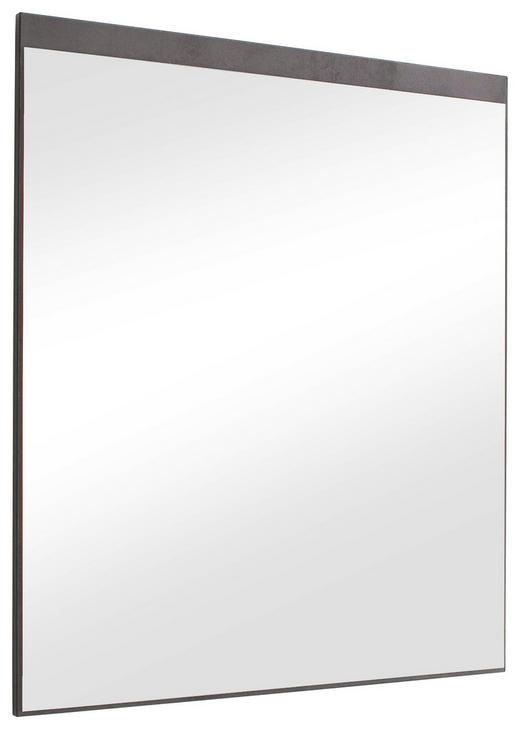 SPIEGEL - Anthrazit, KONVENTIONELL, Glas/Holzwerkstoff (75/87/2cm) - Voleo