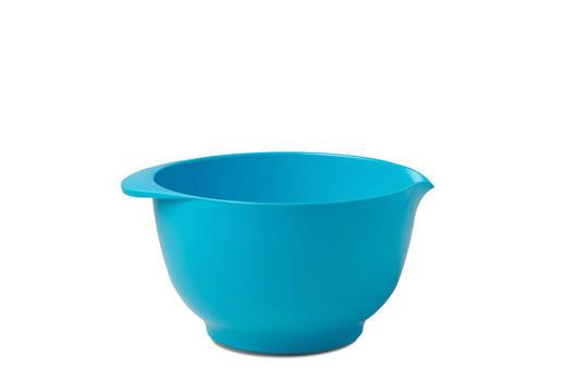RÜHRSCHÜSSEL - Blau, Design, Kunststoff (25/21,5/13cm) - Mepal Rosti