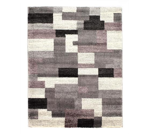 WEBTEPPICH  200/290 cm  Grau, Flieder   - Flieder/Grau, KONVENTIONELL, Textil (200/290cm) - Novel