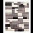 WEBTEPPICH  65/130 cm  Grau, Flieder   - Flieder/Grau, KONVENTIONELL, Textil (65/130cm) - Novel