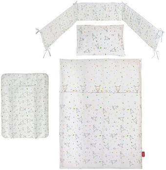 GITTERBETTSET - Multicolor/Weiß, Basics, Kunststoff/Textil - MY BABY LOU