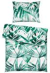 BETTWÄSCHE 140/200 cm - Weiß/Grün, Trend, Textil (140/200cm) - Esposa