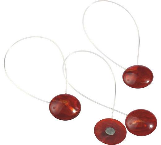 MAGNET POUTKA - světle červená, Basics, kov/umělá hmota (40cm) - Homeware
