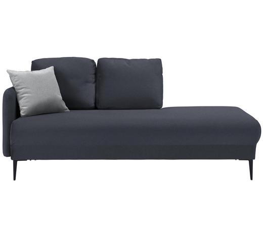 LIEGE in Textil Anthrazit - Anthrazit/Hellgrau, MODERN, Textil (190/85/88cm) - Carryhome