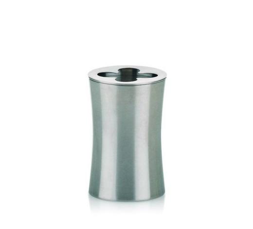 ZAHNBÜRSTENHALTER - Edelstahlfarben, Basics, Metall (6.5/10cm) - Kela