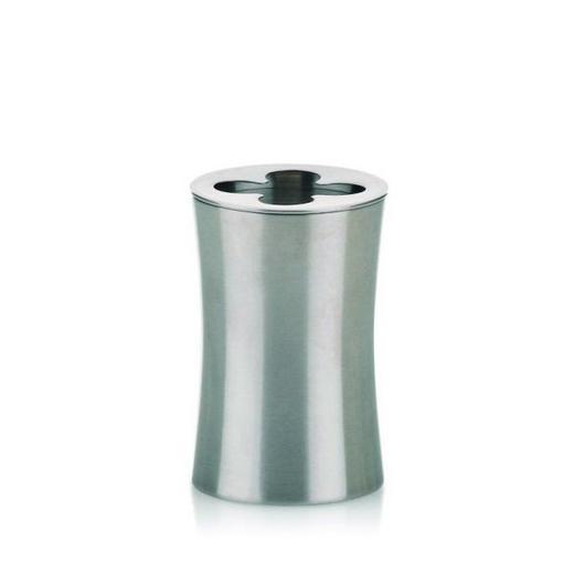 ZAHNBÜRSTENHALTER - Edelstahlfarben, Basics, Metall (6.5/10cm)