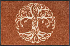 FUßMATTE 40/60 cm Graphik Kupferfarben  - Kupferfarben, Basics, Kunststoff/Textil (40/60cm) - Esposa