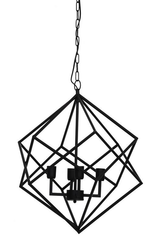 HÄNGELEUCHTE - Schwarz, Trend, Metall (61/68cm)