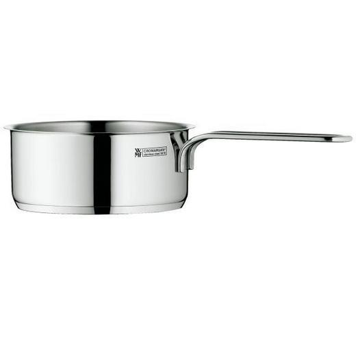 STIELKASSEROLLE 0,5 l - Edelstahlfarben, Design, Metall (10cm) - WMF
