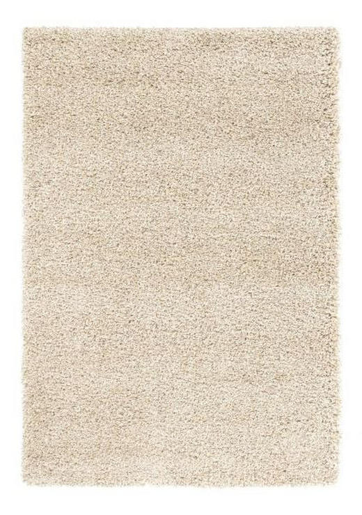 HOCHFLORTEPPICH  65/130 cm  gewebt  Beige - Beige, Basics, Textil (65/130cm) - Esposa