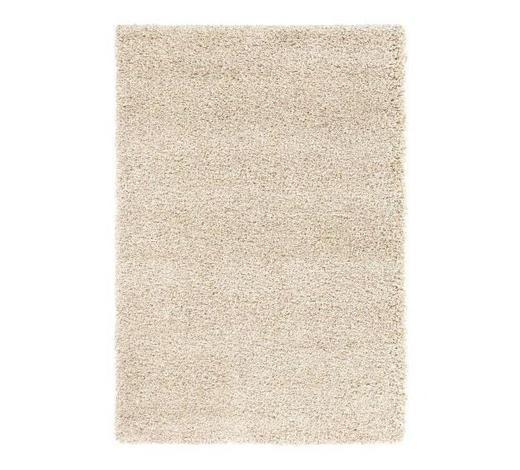 HOCHFLORTEPPICH  65/130 cm  gewebt  Beige   - Beige, Basics, Textil (65/130cm) - Novel