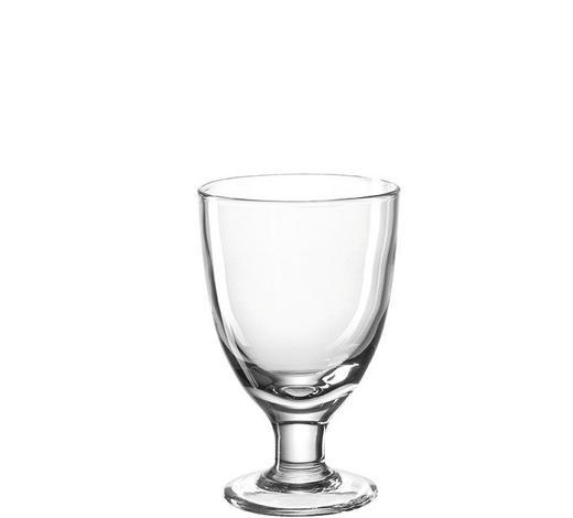 DESSERTSCHALE - Transparent, Basics, Glas (10,00/16,00/10,00cm) - Leonardo
