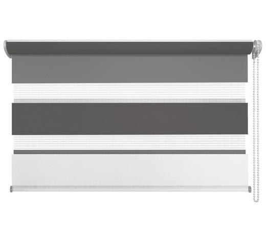 DUOROLLO 80/160 cm - Anthrazit/Weiß, Design, Textil (80/160cm) - Homeware