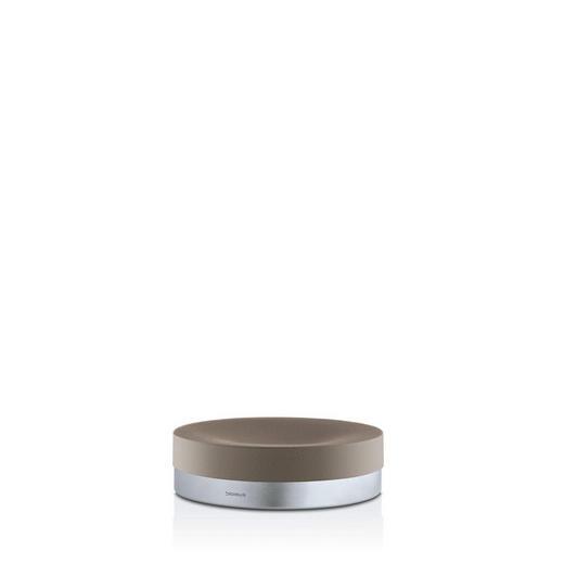 SEIFENSCHALE - Taupe, Design, Stein/Metall (12/3,5cm) - Blomus