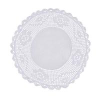 PLATZDECKCHEN  25 cm - Weiß, LIFESTYLE, Textil (25cm)