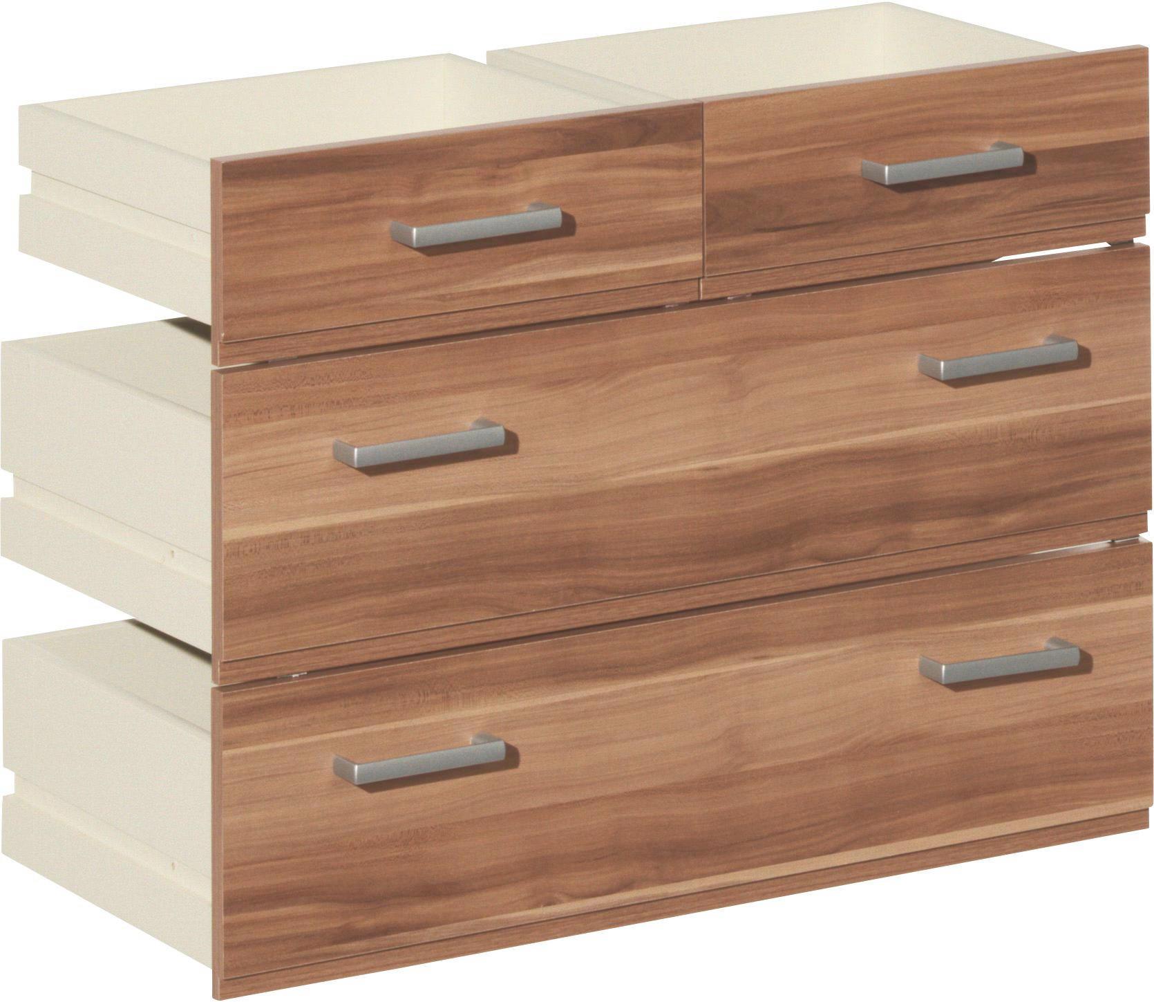 SCHUBKASTENEINSATZ Nussbaumfarben - Nussbaumfarben, Design (68/51/32cm) - CS SCHMAL