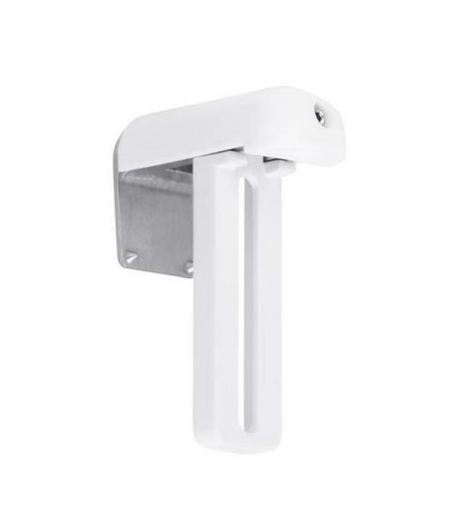 KLEMMTRÄGER - Weiß, Basics, Kunststoff/Metall (4/5.7cm) - Homeware