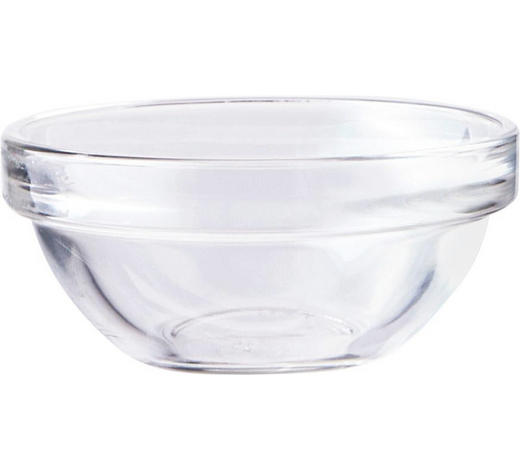 SCHÜSSEL  - Klar/Transparent, Basics, Glas (7cm) - Homeware