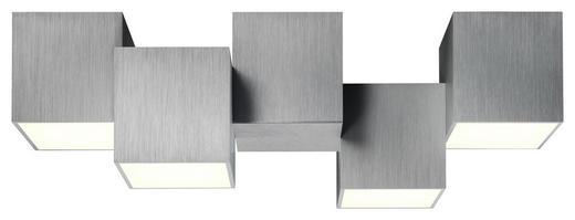 LED-DECKENLEUCHTE - Alufarben, Design, Metall (50/20/15cm)