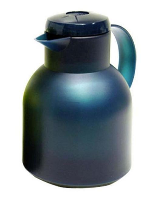 ISOLIERKANNE 1,0 L - Türkis, Basics, Kunststoff (18/15/22cm) - Emsa