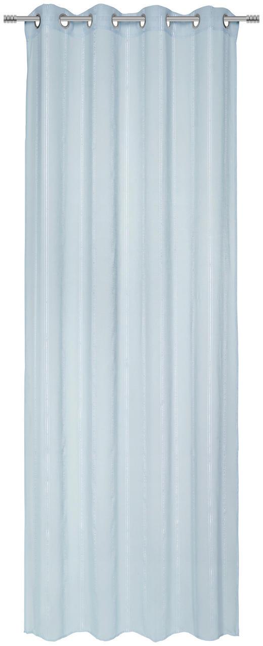 ÖSENVORHANG transparent - Mintgrün, Basics, Textil (135/245/cm) - Esposa