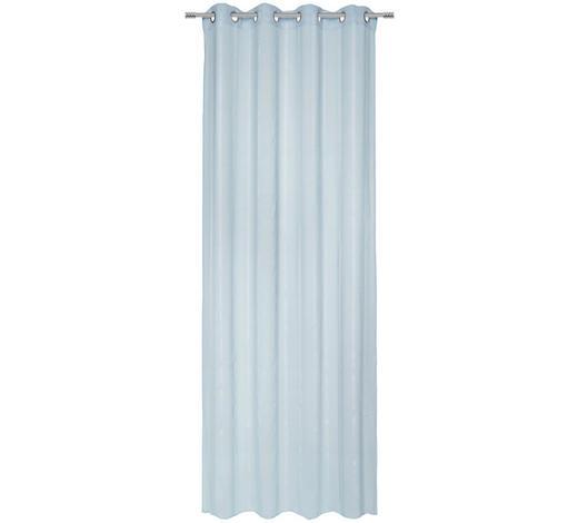 ÖSENVORHANG transparent  - Mintgrün, Basics, Textil (135/245cm) - Esposa