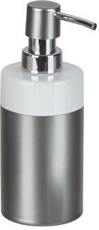 SEIFENSPENDER Keramik - Anthrazit/Weiß, Basics, Keramik (6,7/17,5cm) - CELINA