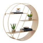 WANDREGAL Goldfarben  - Goldfarben, Design, Metall (60/60/15cm) - Carryhome