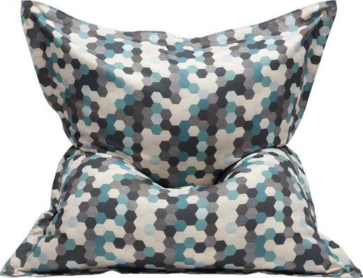 SITZSACK in Textil Multicolor - Multicolor, Design, Textil (180/140/14cm)