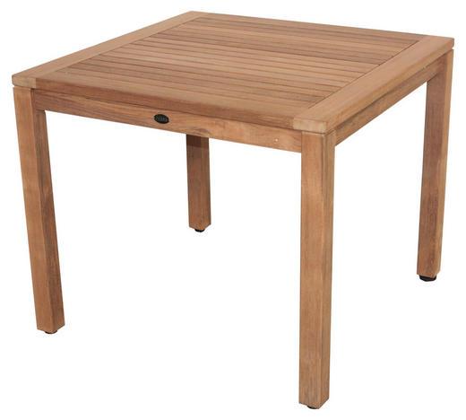GARTENTISCH Holz Teakfarben - Teakfarben, Trend, Holz (90/90/75cm) - Zebra Süd