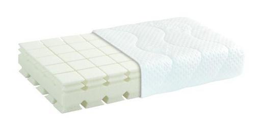 NACKENKISSEN Doppeltuch Viskoelastischer Kern - Weiß, Basics, Textil (40/80cm) - Diamona